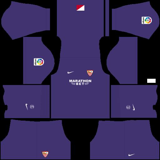 equipación Sevilla DLS