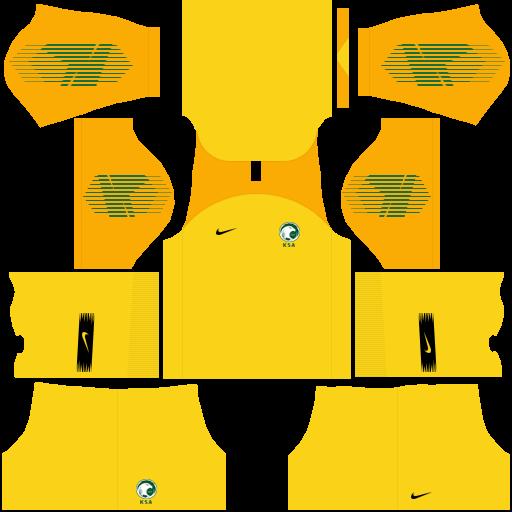 equipación Selección de Arabia Saudita DLS