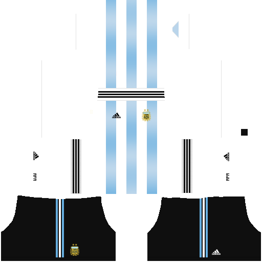 equipación Selección de Argentina Dream League Soccer