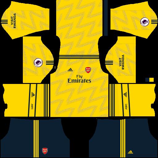 equipación Arsenal Dream League Soccer