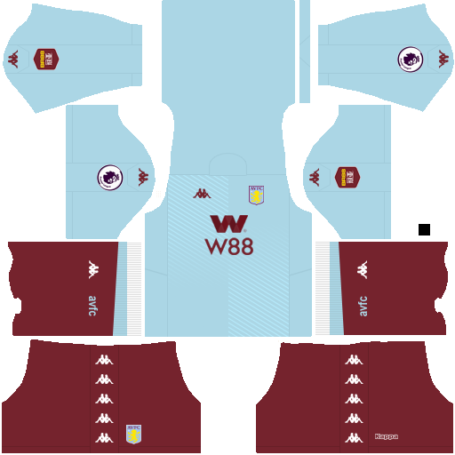 equipación Aston Villa Dream League Soccer