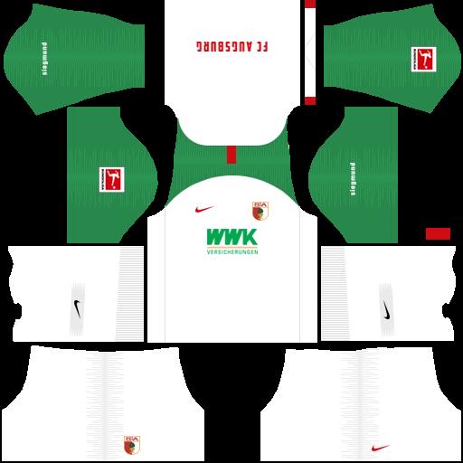 equipación Augsburgo Dream League Soccer