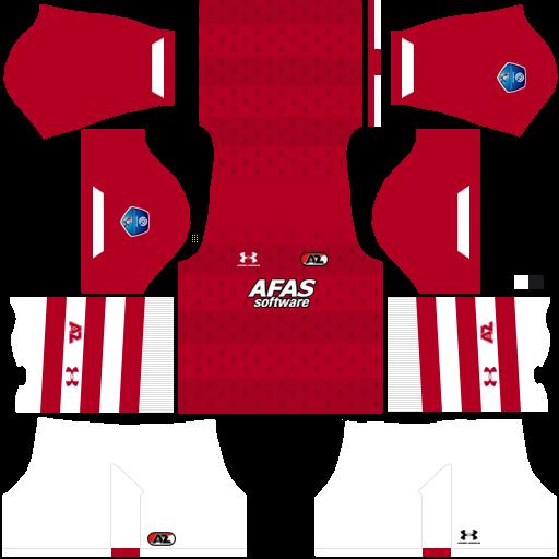 equipación AZ Alkmaar Dream League Soccer
