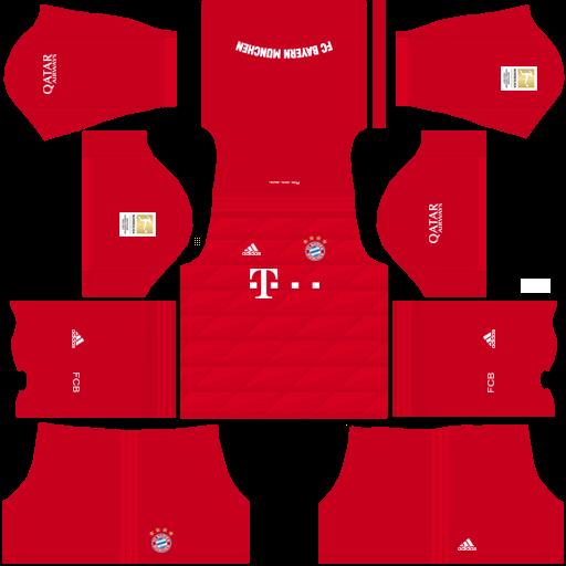 equipación Bayern Munich Dream League Soccer