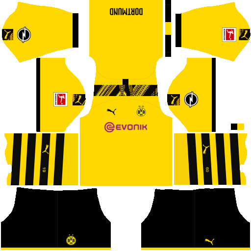 equipación Borussia Dortmund Dream League Soccer