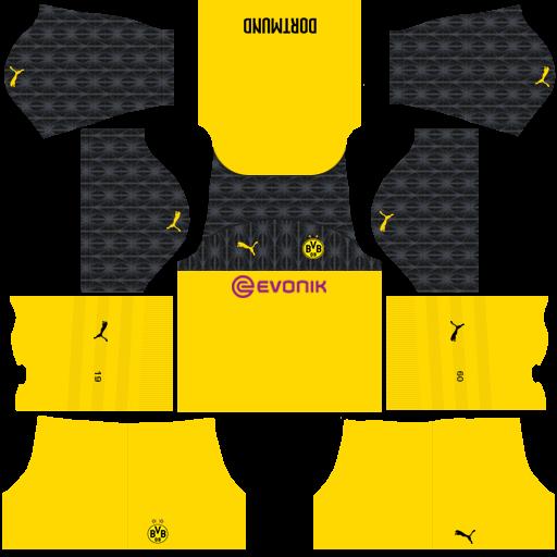 equipación Borussia Dortmund DLS
