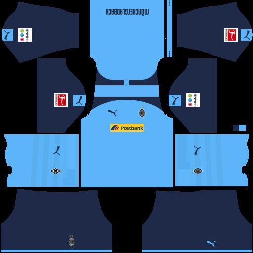 equipación Borussia Mönchengladbach Dream League Soccer