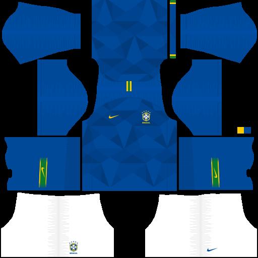 equipación Selección de Brasil Dream League Soccer