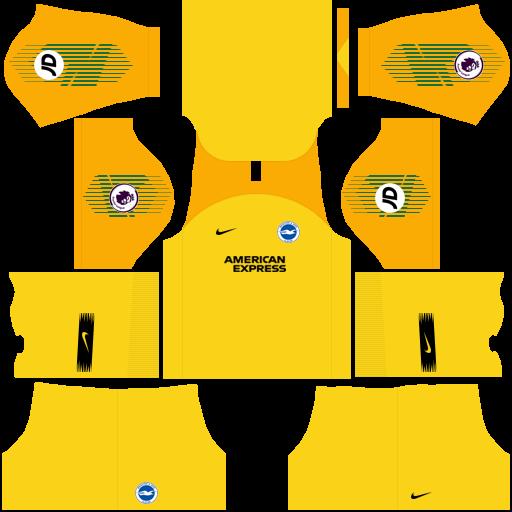 equipación Brighton & Hove Albion DLS