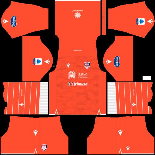 equipación Cagliari DLS