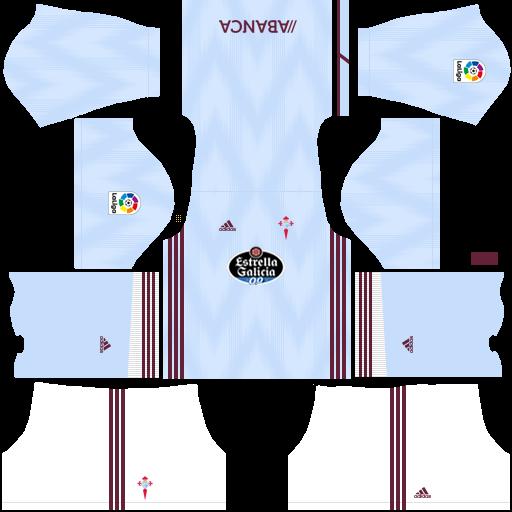 equipación Celta de Vigo Dream League Soccer