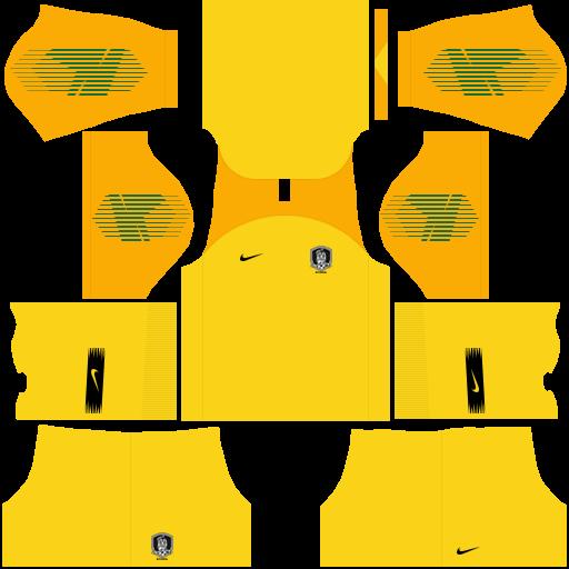 equipación Selección de Corea del Sur DLS