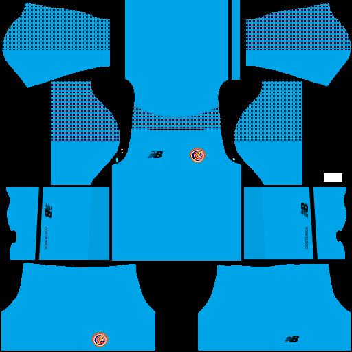 equipación Selección de Costa Rica DLS