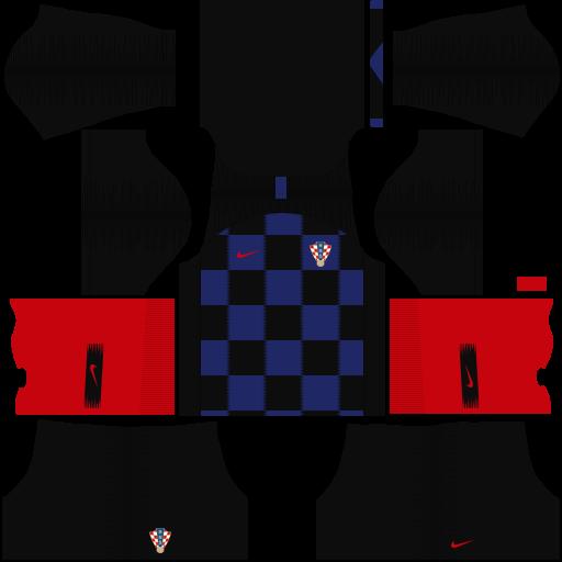equipación Selección de Croacia Dream League Soccer