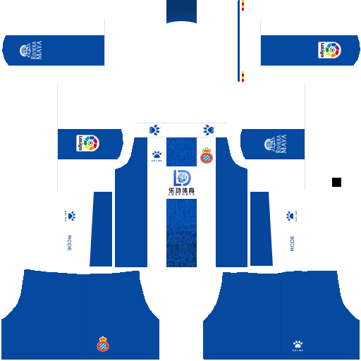 equipación Espanyol Dream League Soccer