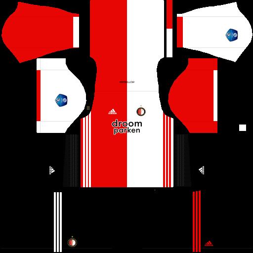equipación Feyenoord Dream League Soccer