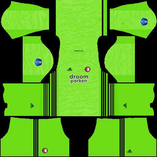 equipación Feyenoord DLS