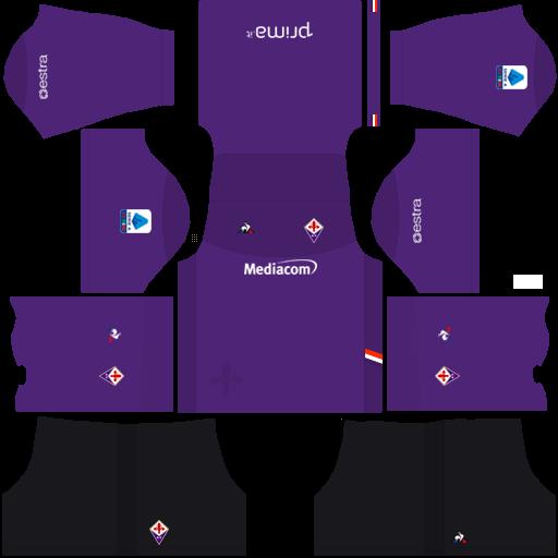 equipación Fiorentina Dream League Soccer