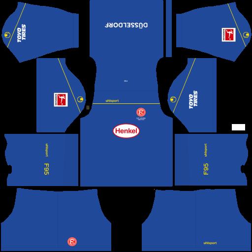 equipación Fortuna Düsseldorf DLS