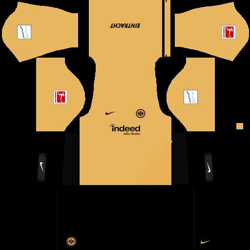 equipación Eintracht Frankfurt DLS
