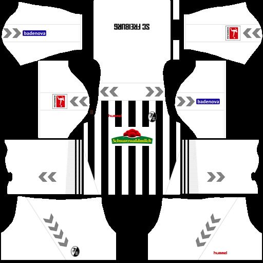 equipación Friburgo Dream League Soccer