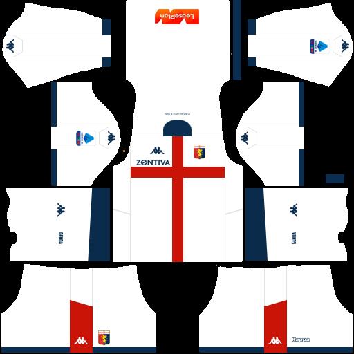 equipación Genoa DLS