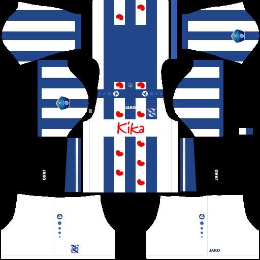 equipación Heerenveen Dream League Soccer