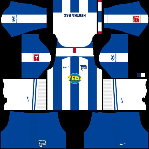equipación Hertha Berlin Dream League Soccer