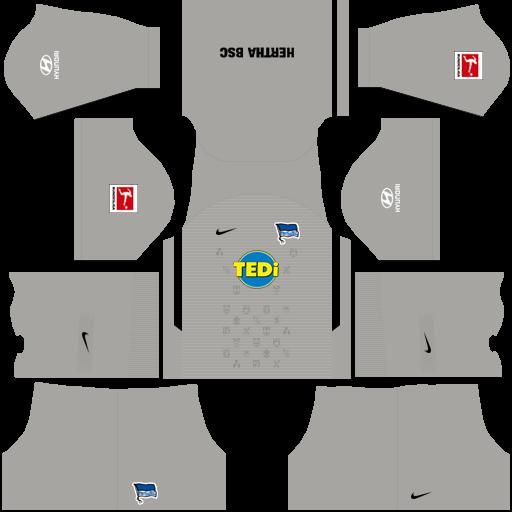 equipación Hertha Berlin DLS