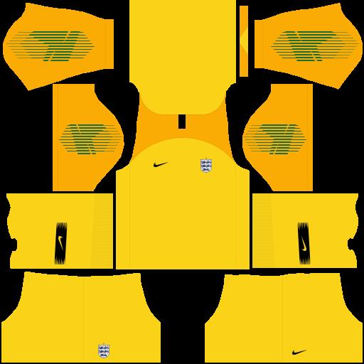 equipación Selección de Inglaterra DLS