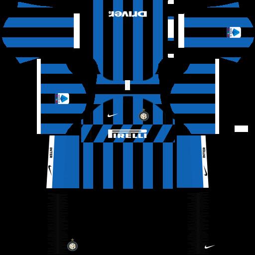 equipación Inter de Milan Dream League Soccer