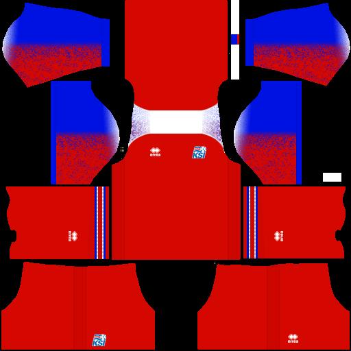 equipación Selección de Islandia DLS