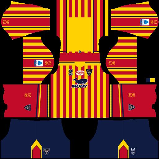 equipación Lecce Dream League Soccer