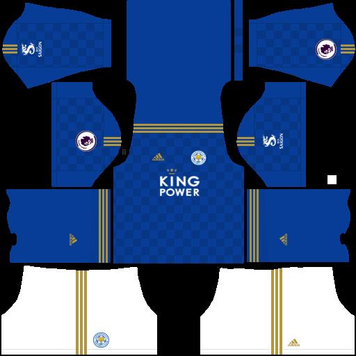 equipación Leicester City Dream League Soccer
