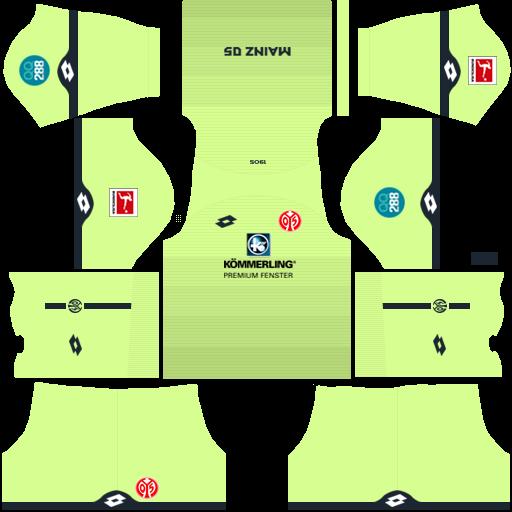 equipación Mainz DLS