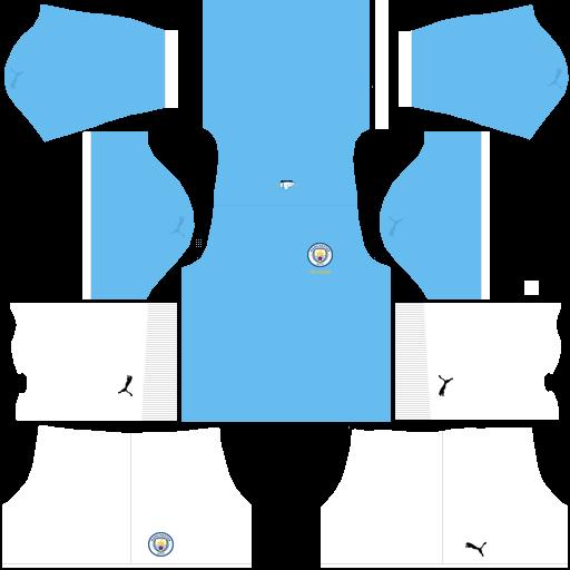 equipación Manchester City DLS
