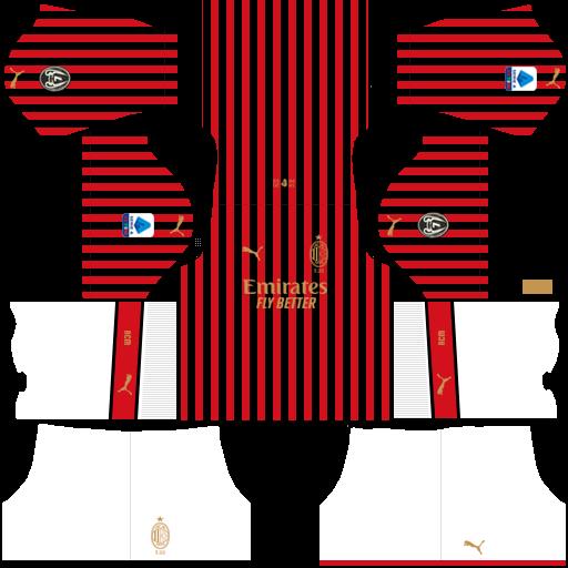 equipación AC Milan DLS