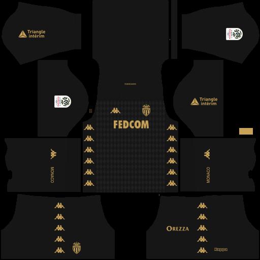equipación AS Mónaco Dream League Soccer