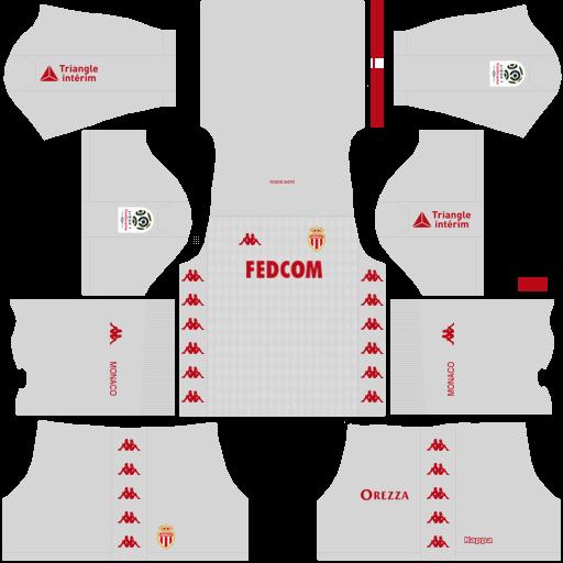 equipación AS Mónaco DLS