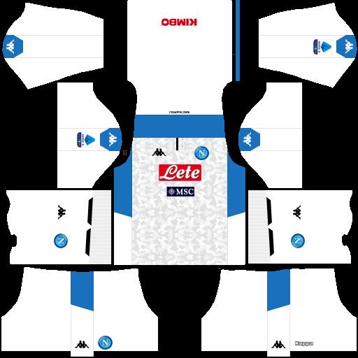 equipación Napoli DLS