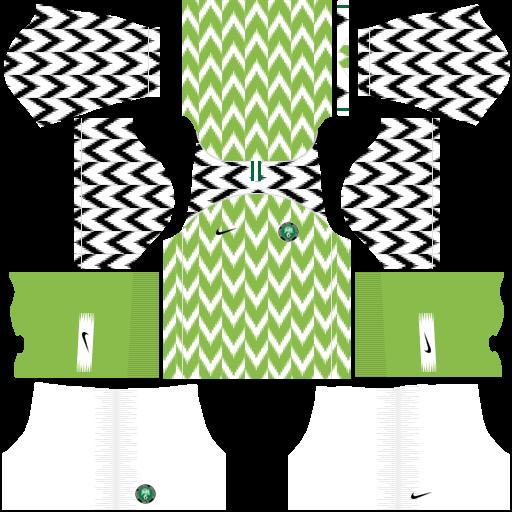 equipación Selección de Nigeria Dream League Soccer