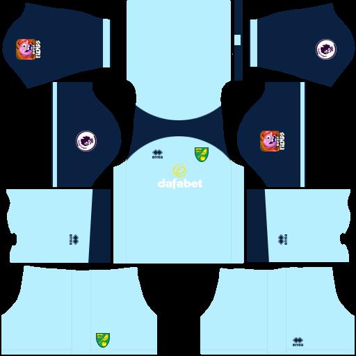 equipación Norwich City DLS