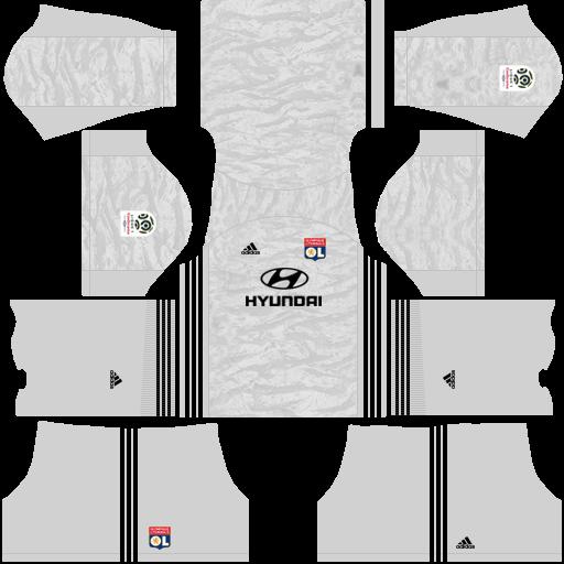 equipación Olympique Lyon DLS