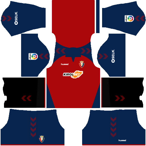 equipación Osasuna Dream League Soccer