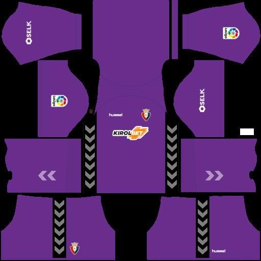 equipación Osasuna DLS