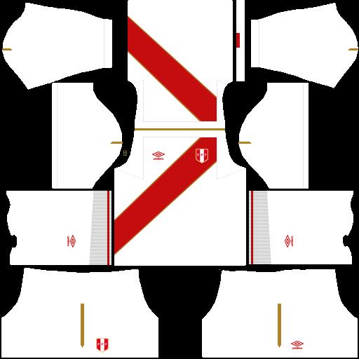 equipación Selección de Perú Dream League Soccer