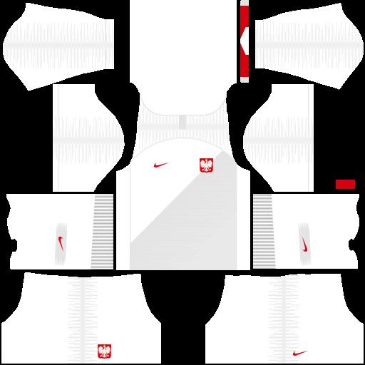 equipación Selección de Polonia Dream League Soccer