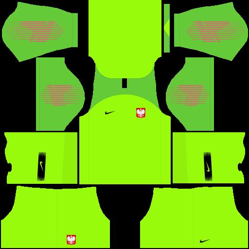 equipación Selección de Polonia DLS