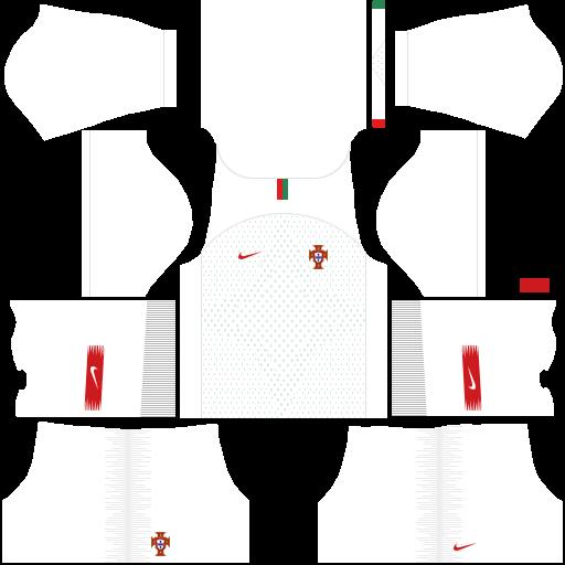 equipación Selección de Portugal Dream League Soccer