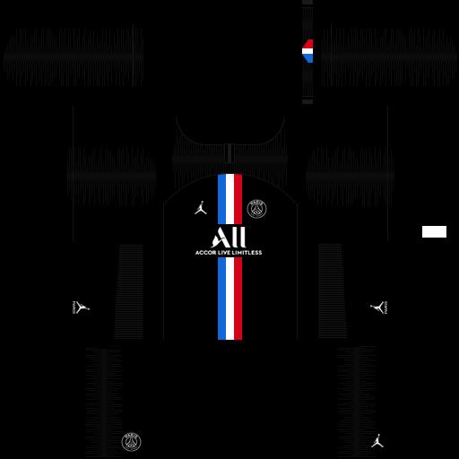 equipación Paris Saint Germain DLS